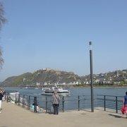 Blick auf die Festung Ehrenbreitstein