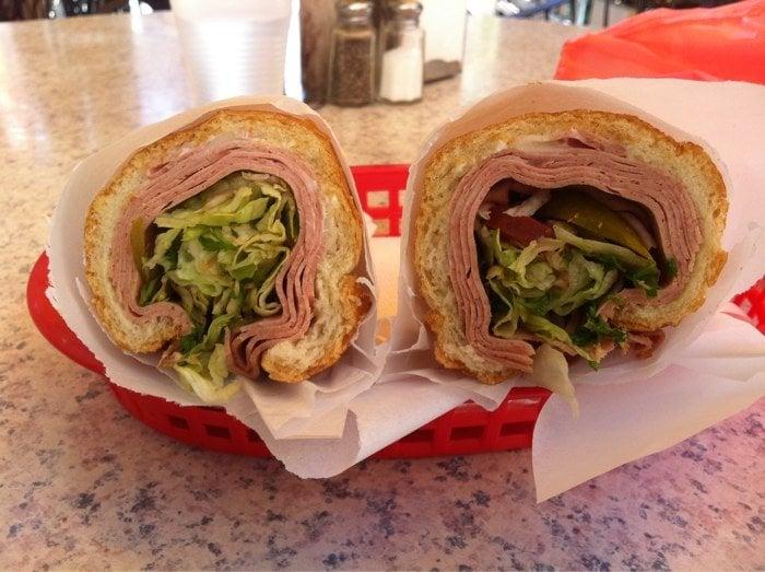 Mortadella Sandwich Mortadella Sandwich