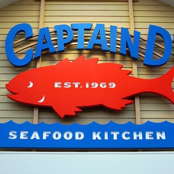 Captain d s seafood seafood restaurants 2820 maple ave for Captain d s country style fish