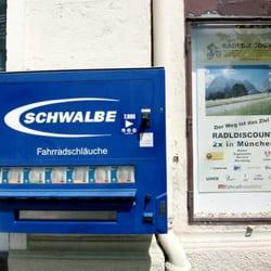 Schlauchautomat am Radldiscount