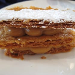 Mille-Fuille w/ Caramel Pastry Cream…
