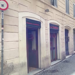 The unassuming entrance if Da Tonino