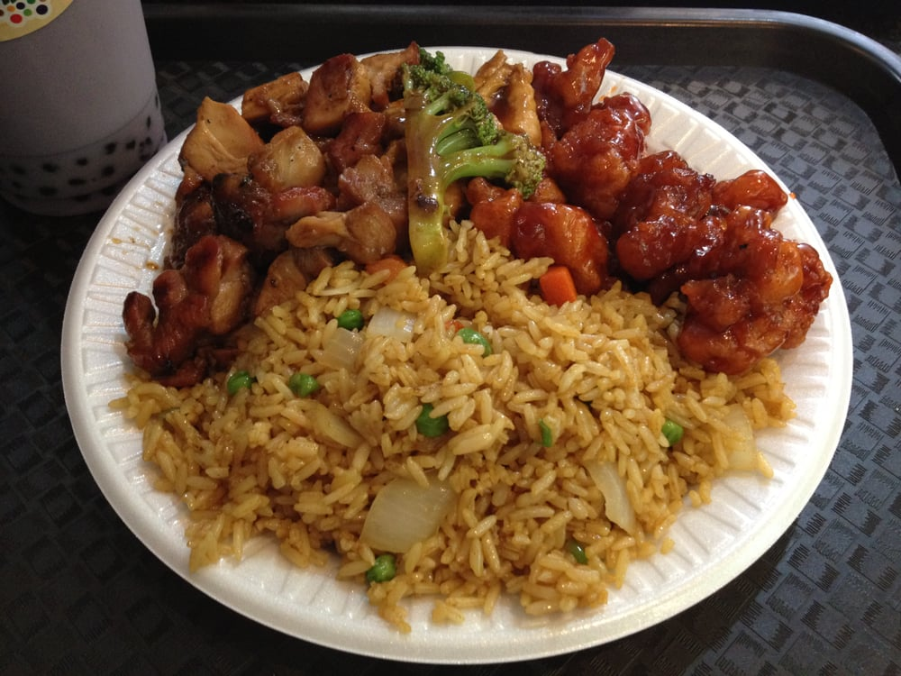 Fried rice and general chicken