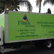 U Haul Finch Finch Moving San Diego