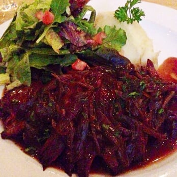Cedric French Bistro and Bar - Grilled Hanger Steak with Shallots in a ...