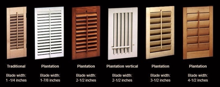 Shutter styles for interior window coverings yelp for Window company