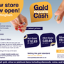 Gold Equals Cash Nottingham