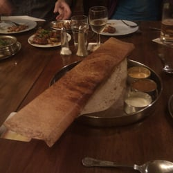 One of the mighty Dosa, the pan must be enormous :D