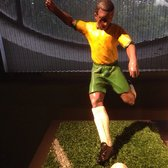 A football player figurine