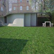 garden studio for a choreographer , Islington, London