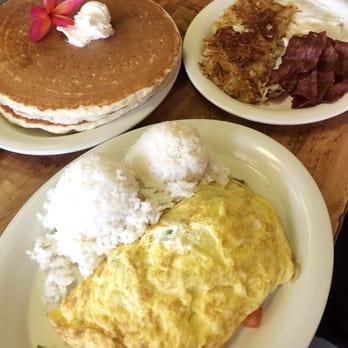 Hawaiian Style Cafe Menu Waimea