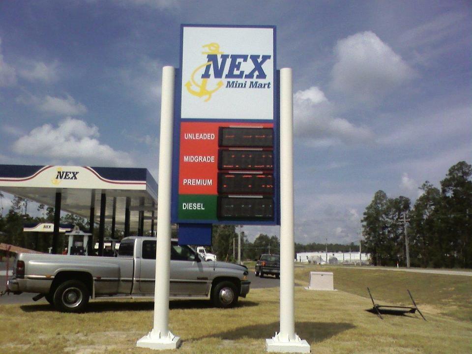 Nex Mini Mart Stennis Space Center Miss Gas Sign Yelp