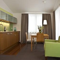 Küchenbereich im Apartment