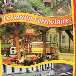 le jardin ferroviaire, Chatte, Isère