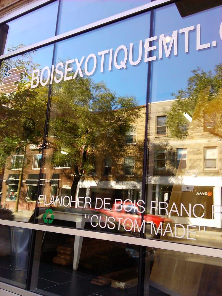 Planchers De Bois Exotique  Flooring & Tiling  Rosemont