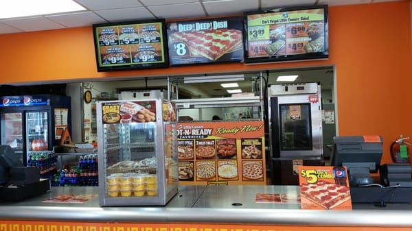 LITTLE CAESARS PIZZA, W 38TH ST, Indianapolis, IN - Restaurant inspection findings and violations.