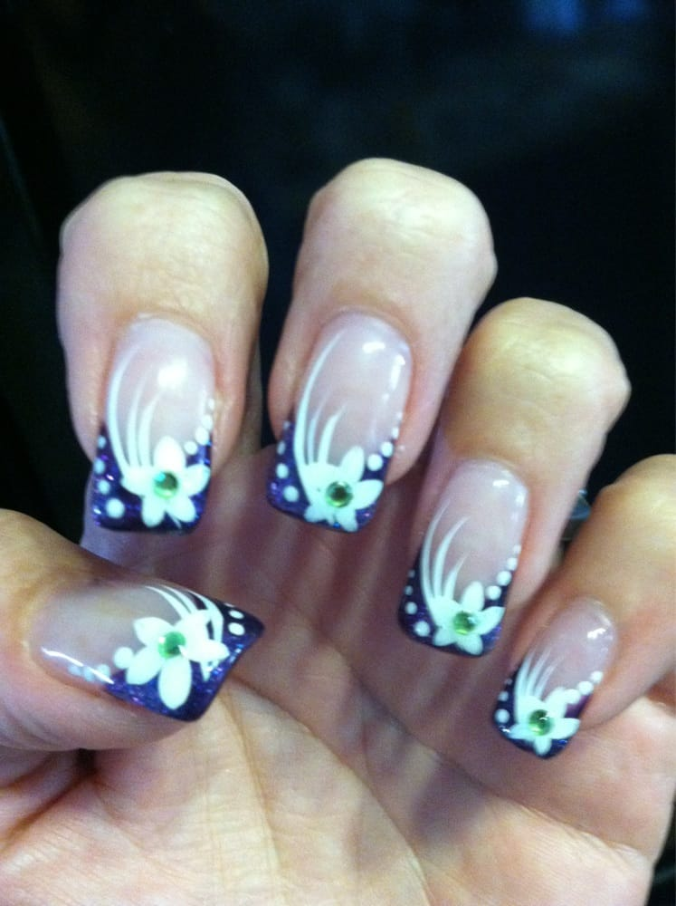 awesome job on this intricate nail design - I absolutely Love them