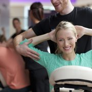 Chair massages in as little as 10mins
