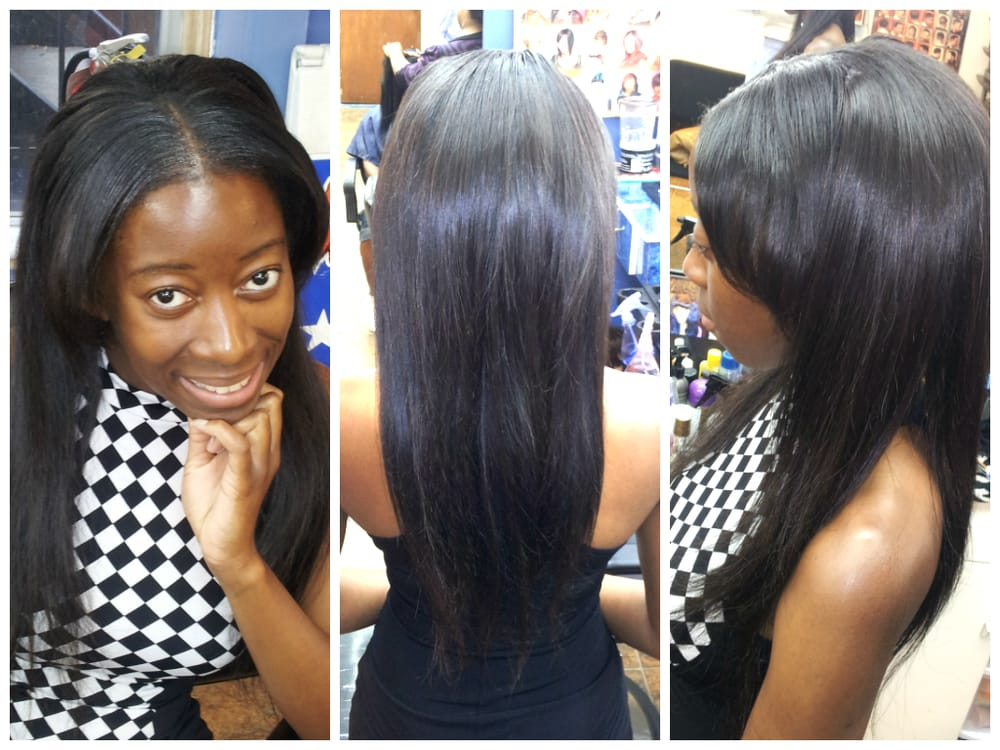 Middle Part Sew In Images & Pictures - Becuo