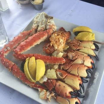 ... - Hollywood, FL, United States. Alaskan crab, stone crabs & lobster