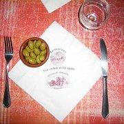 Les olives offertes en apéro