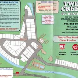 Twin Creek Rv Resort Guest Houses Gatlinburg Tn