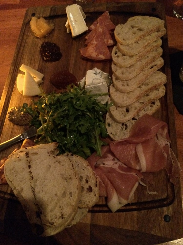 meat and cheese platter from previous visit