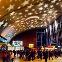 Weihnachten im Kölner Hauptbahnhof