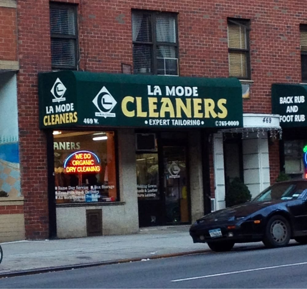 la mode dry cleaners dry cleaning laundry hell 39 s. Black Bedroom Furniture Sets. Home Design Ideas