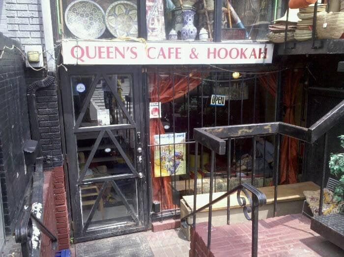 queens cafe hookah 104 fotos shisha bar adams. Black Bedroom Furniture Sets. Home Design Ideas