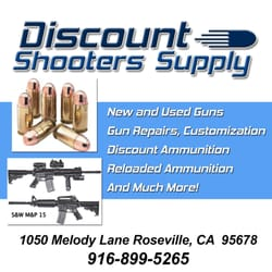 Discount coupons for select shooting supplies
