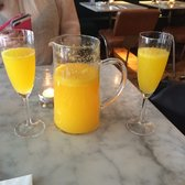 Pitcher of mimosas!