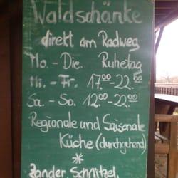 Waldschänke am Radweg, Althüttendorf, Brandenburg
