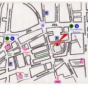 Karte: Lage sündige mode Frankfurt