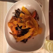Malthazar - Marseille, France. Pumpkin and veggie dish.
