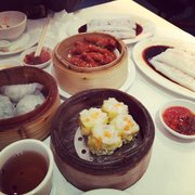 Selection of dim sum