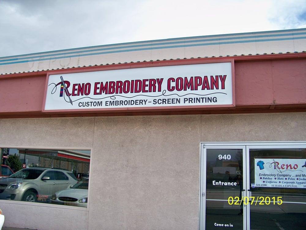 Reno Embroidery Company Screen Printing Yelp