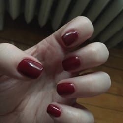 Gel manicure by Maggie D.