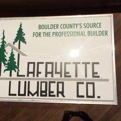 Lafayette Lumber Company logo