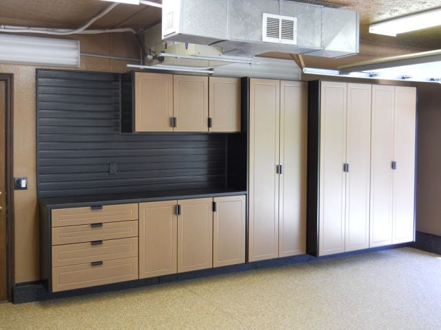 All kinds of kitchen cabinets