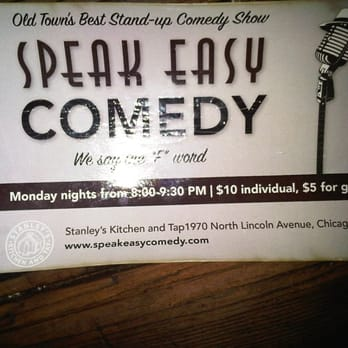 Speak Easy Comedy Comedy Clubs Lincoln Park Chicago