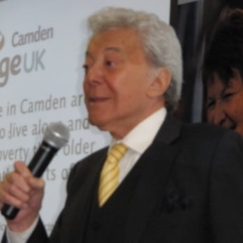 Lionel Blair - aged 80 - at a launch