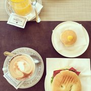 Lovely sweets and cafes, mediocre savory…