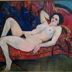 Von einer Frau gemalt ( Suzanne Valadon)