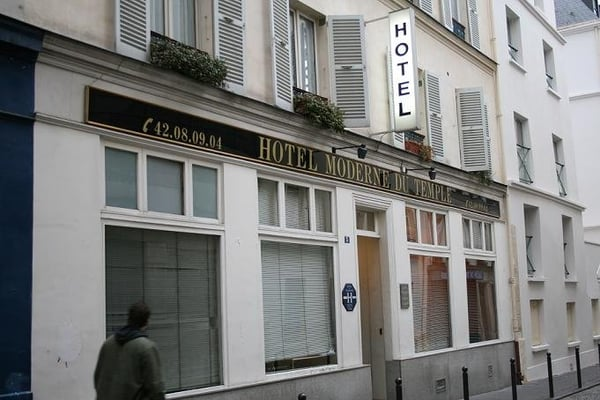 for Hotel moderne paris