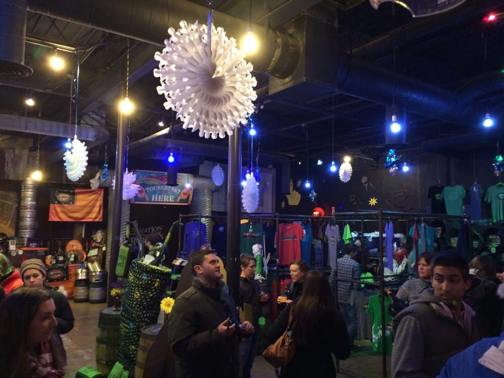 Interior of magic hat. Fun times for all!! | Yelp