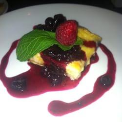 Brioche, blueberry and white chocolate…