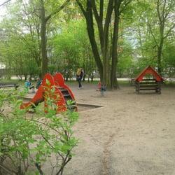 Spielplatz Wohlerspark - Hamburg, Deutschland