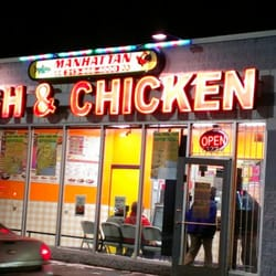 Manhattan fish chicken restauranger highland park for Manhattan fish and chicken menu