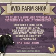 Avid farm Shop, Millhouse Green, South Yorkshire, UK
